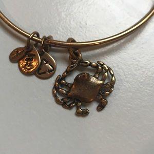 Classic gold Alex and Ani bracelet